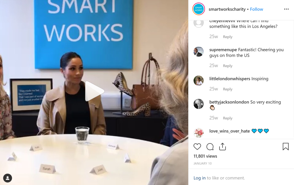 Charities Meghan Markle Supports- Smart Works
