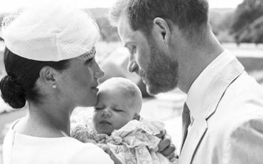 meghan markle royal baby archie christening