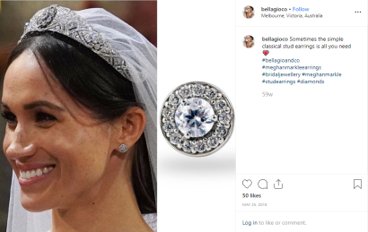 Meghan Markle Best Jewelry- Cartier Studs