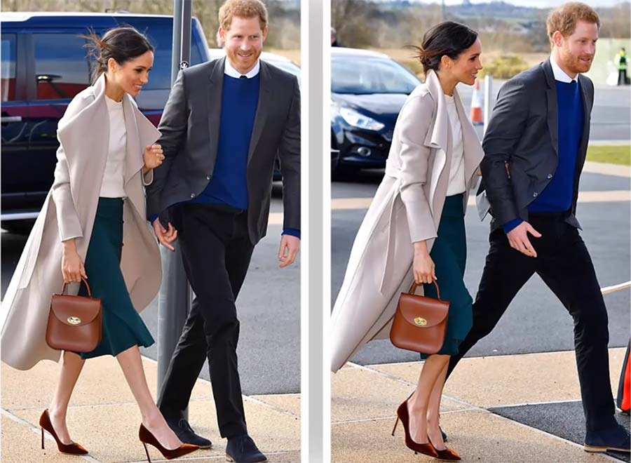 Meghan Markle's Best Shoes- Jimmy Choo Pumps