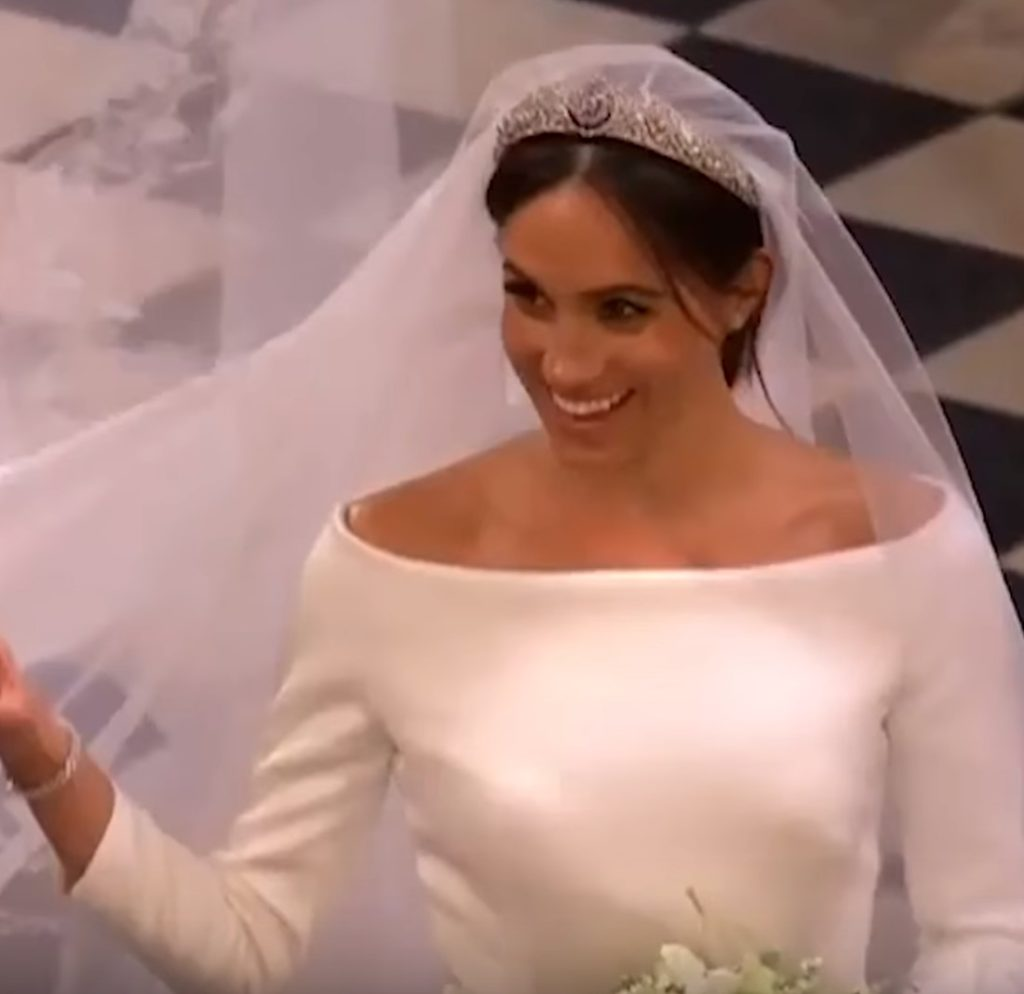 Meghan's Hair- Wedding