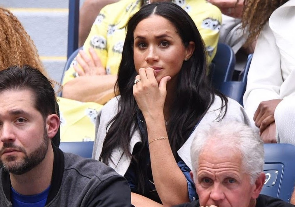 Photo: YouTube Meghan Markle at US Open