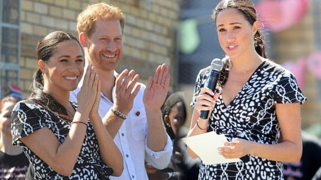 meghan markle's speech in africa