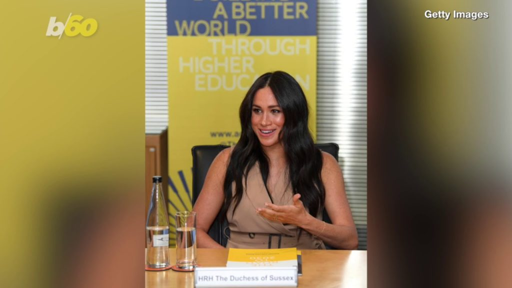 meghan markle gender equality